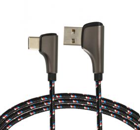 弯头usb数据线生产