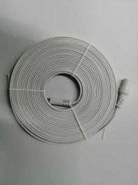 DC头充电线扁线面条线